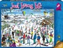 Just Living Life 1000 Piece Jigsaw Puzzle Ski -
