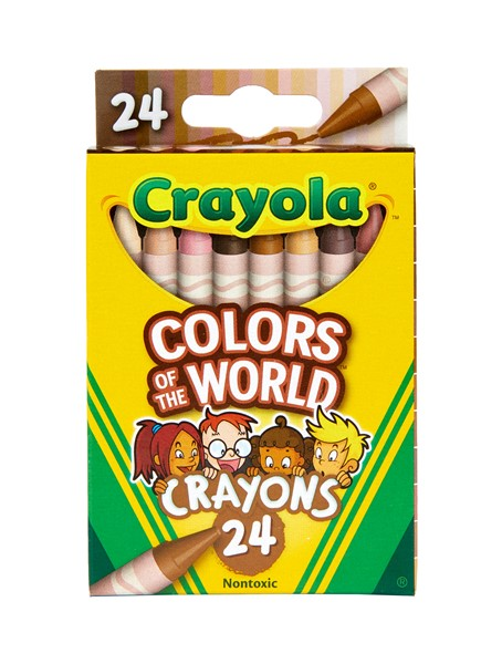 Crayola Colors of the World 24ct Crayons -