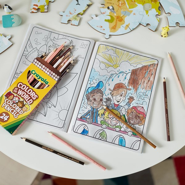 Crayola Colors of the World Coloring Book -