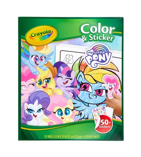 Crayola Color & Sticker Book My Little Pony -