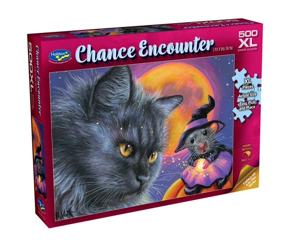 Chance Encounter 500XL Piece Jigsaw Puzzle - I Put A Spell On You -