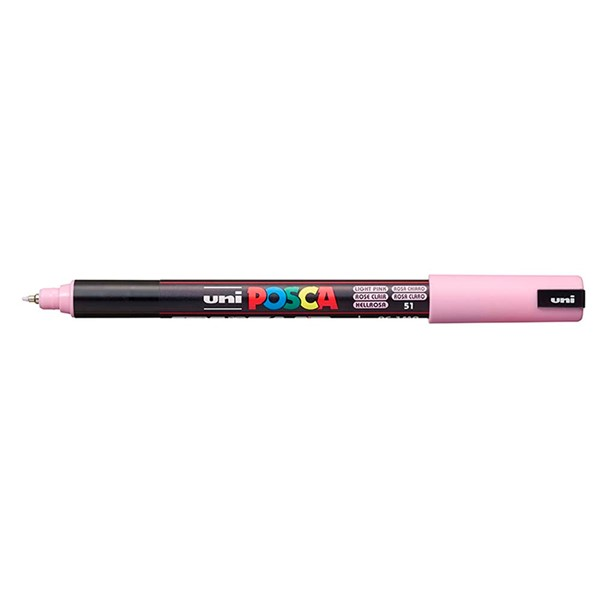 Uni Posca Marker 0.7mm Ultra-Fine Pin Tip Light Pink  -