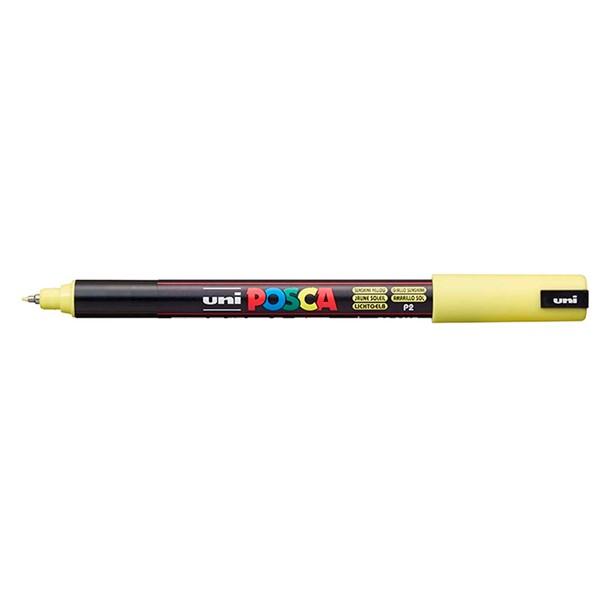 Uni Posca Marker 0.7mm Ultra-Fine Pin Tip Sunshine Yellow  -