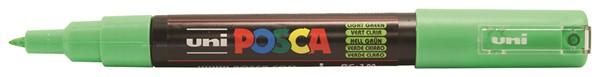 Uni Posca Marker 0.7mm Ultra-Fine Round Tip Light Green  -