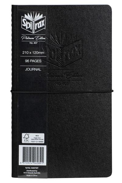Spirax Platinum Edition Journal 120 x 210mm -