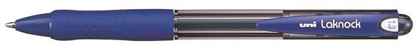 Uni Pen Laknock SN100 Retractable Medium Blue -