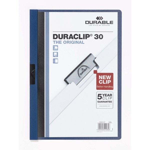 Clip Folder Duraclip 30 - Blue -