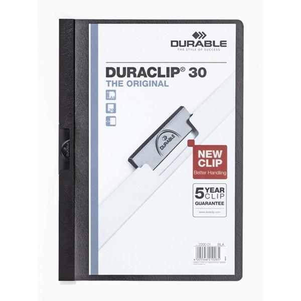 Clip Folder Duraclip 30 - Black - pr_1708175