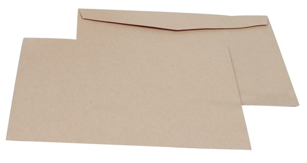 Croxley Envelopes C4 (E31) Wallet Non Window Tropical Seal Manilla Box 250 - pr_1702755