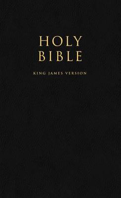HOLY BIBLE: King James Version (KJV) Popular Gift & Award Black Leatherette Edition -