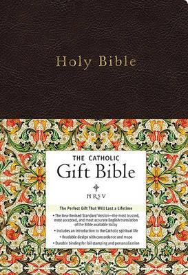 NRSV, The Catholic Gift Bible, Imitation Leather, Black -