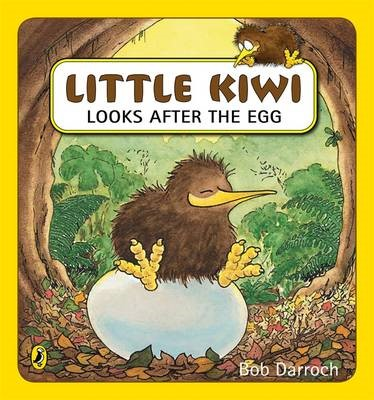 Little Kiwi Looks After the Egg -
