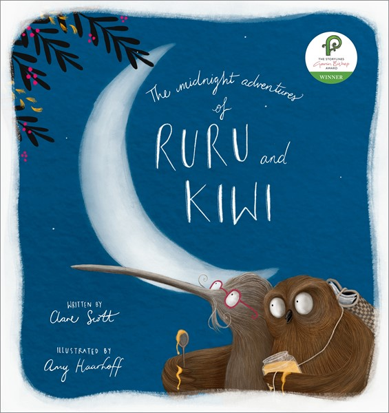 The Midnight Adventures of Ruru and Kiwi -