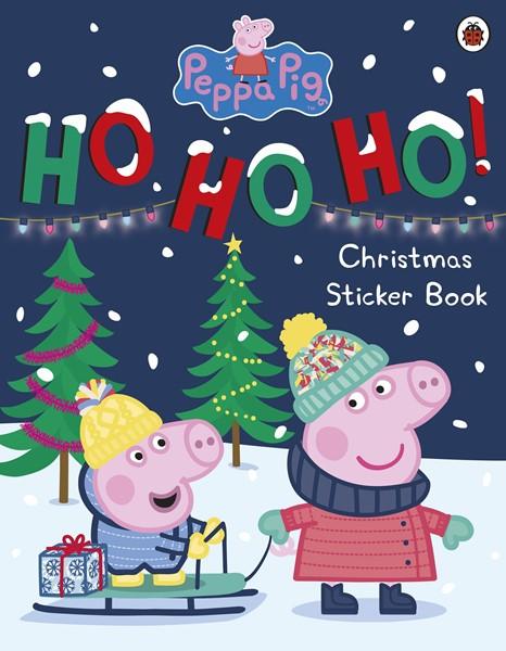 Peppa Pig: Ho Ho Ho! Christmas Sticker Book - pr_1841117