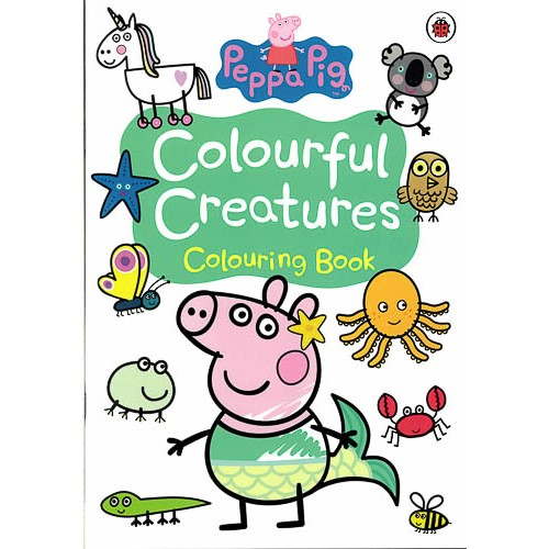 Peppa Pig: Colourful Creatures Colouring Book -