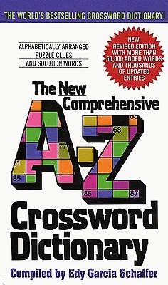 New Comprehensive A-Z Crossword Dictionary - pr_282378