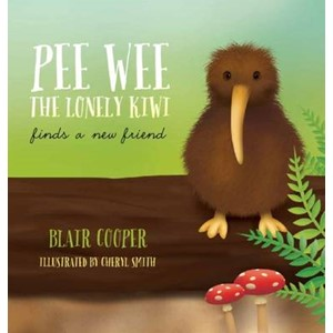 Pee Wee the Lonely Kiwi Finds a New Friend