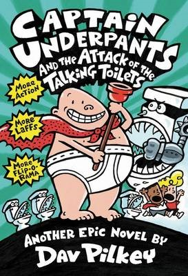 Captain Underpants #2: Captain Underpants and the Attack of the Talking Toilets - pr_419358