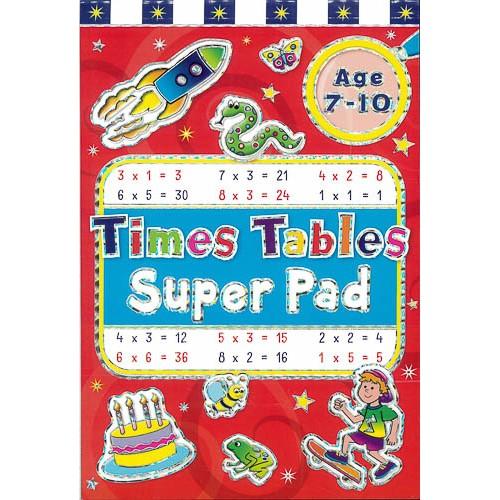 Times Tables Super Pad -