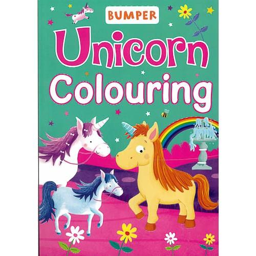 Bumper Unicorn Colouring -
