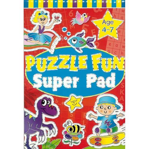 Puzzle Fun Super Pad Age 4-7 -