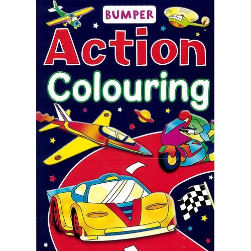 Bumper Action Colouring -