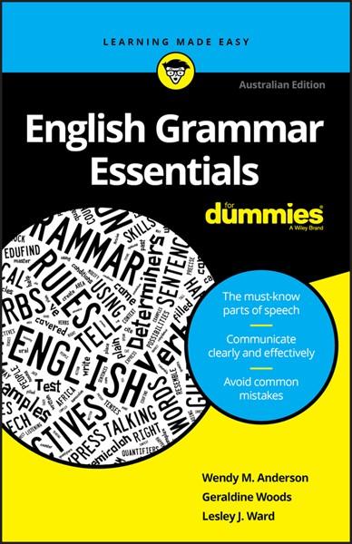 English Grammar Essentials For Dummies -