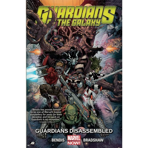 Guardians Of The Galaxy Volume 3: Guardians Disassembled (marvel Now) - pr_1775052