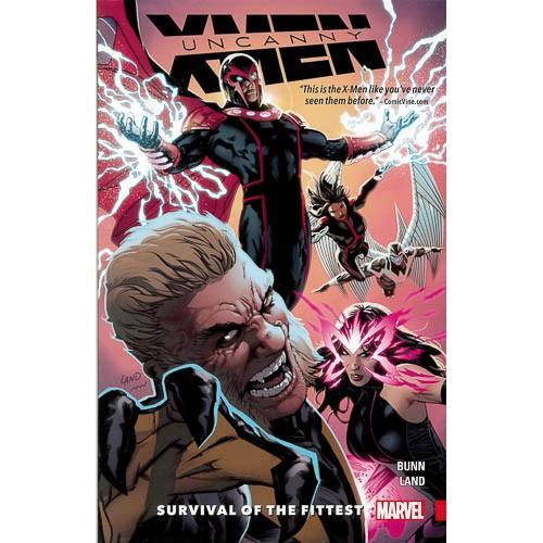 Uncanny X-men: Superior Vol. 1 - Survival Of The Fittest - pr_1773310