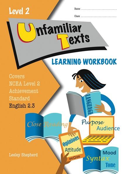 LWB Level 2 Unfamiliar Texts 2.3 Learning Workbook - pr_428508
