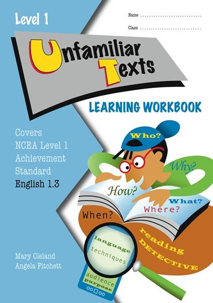 Lwb Level 1 Unfamiliar Texts 1.3 Learning Workbook - pr_428490