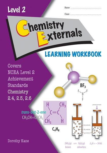 LWB Level 2 Chemistry Externals 2.4, 2.5 & 2.6 Learning Workbook - pr_428501