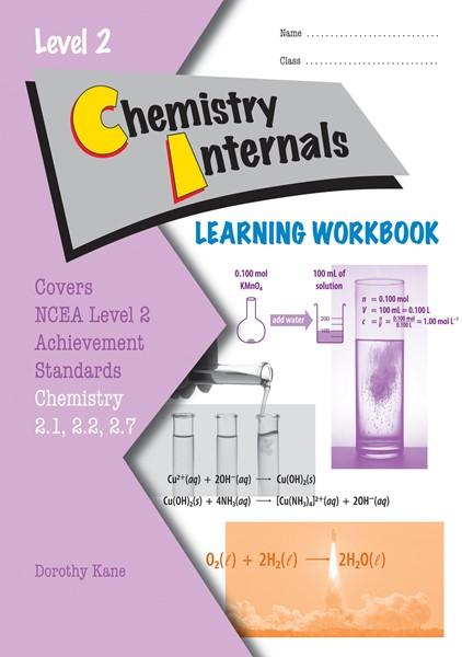 LWB Level 2 Chemistry Internals 2.1, 2.2, 2.3 & 2.7 Learning Workbook - pr_428496