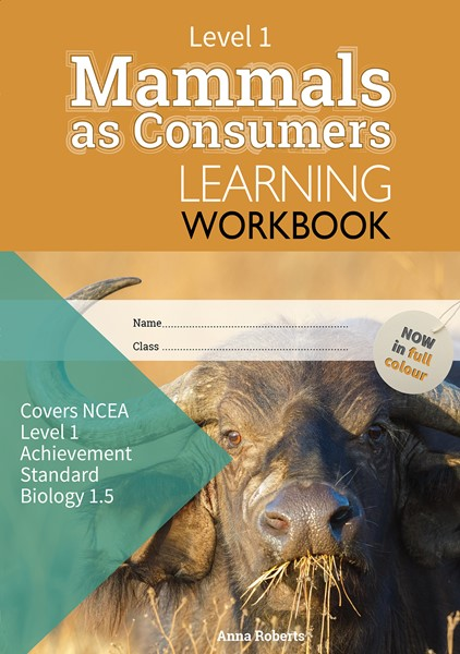 LWB Level 1 Mammals as Consumers 1.5 Learning Workbook -