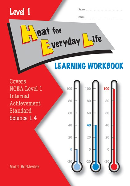 LWB Level 1 Heat for Everyday Life 1.4 Learning Workbook - pr_428604