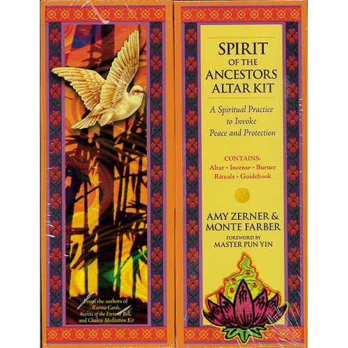 Spirit of the Ancestors Altar Kit: A Spiritual Practice to Invoke Peace and Protection -