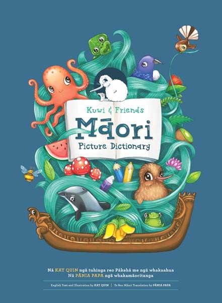 Kuwi & Friends Maori Picture Dictionary -