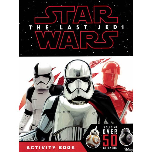 Star Wars The Last Jedi Activity Book with Stickers - pr_1773322