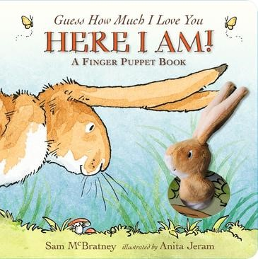 Guess How Much I Love You: Here I Am A Finger Puppet Book - pr_1700089