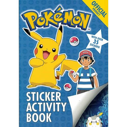 The Official Pokemon Sticker Activity Book - pr_1773345