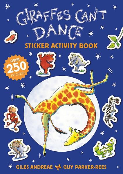 Giraffes Can't Dance 20th Anniversary Sticker Activity Book - pr_1700185