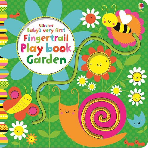 Baby's Very First Fingertrail Play book Garden - pr_1773446