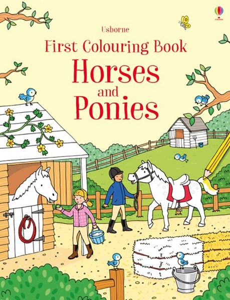 First Colouring Book Horses and Ponies -