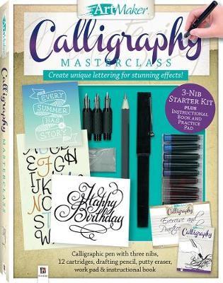 Art Maker Calligraphy Masterclass Kit (portrait) - pr_428707