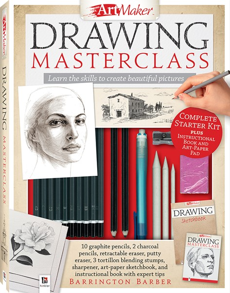 Art Maker Drawing Masterclass Kit (portrait) - pr_428773
