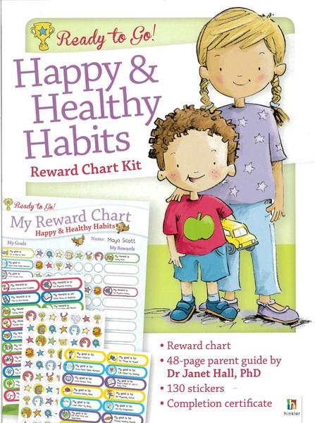 Ready to Go Reward Chart: Happy & Healthy Habits -