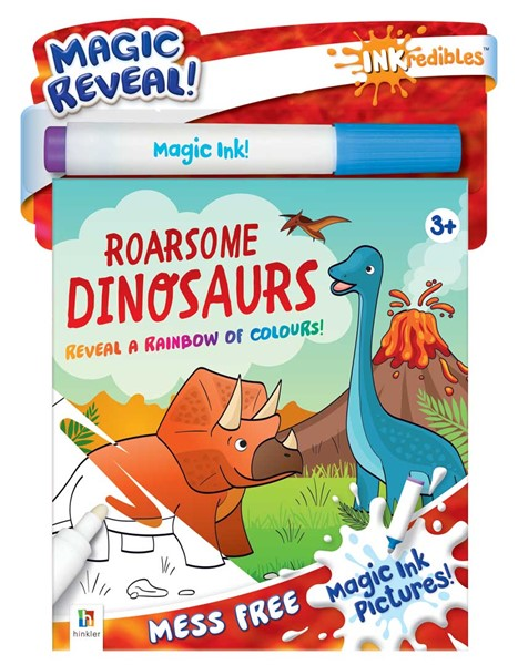 Inkredibles Magic Ink Pictures: Roarsome Dinosaurs - pr_1774491