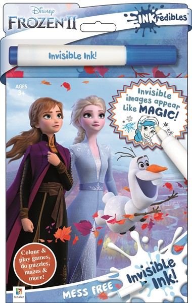 Inkredibles Frozen 2 Invisible Ink -