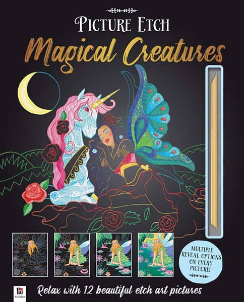 Picture Etch: Magical Creatures -