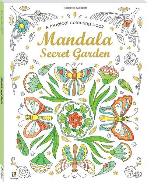 Magical Colouring Book: Mandala Secret Garden -
